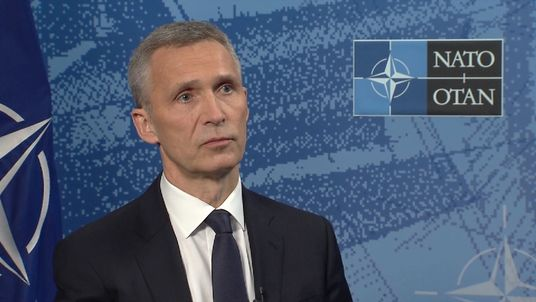 Jens Stoltenberg says Scotland leaving the UK would mean it leaving NATO