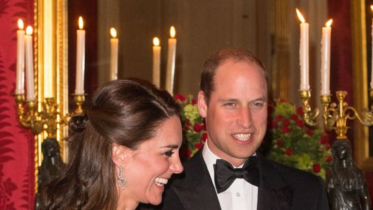 Kate and William head to a dinner hosted by the British ambassador