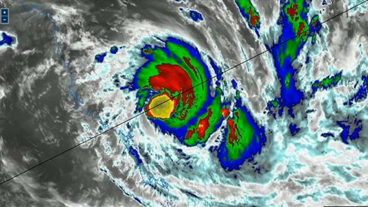 Cyclone Debbie is due to hit northern Queensland