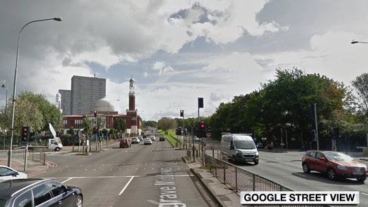 The collision happened in Belgrave Middleway