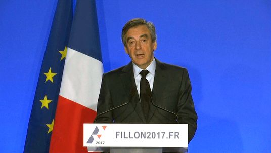 'No one can stop me' standing in French election: Fillon