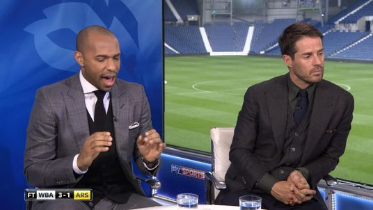 Thierry Henry was not pleased with Arsenal's 'abject' marking against West Brom