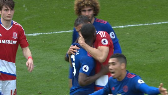 Were Rudy Gestede and Eric Bailly involved in a biting incident?