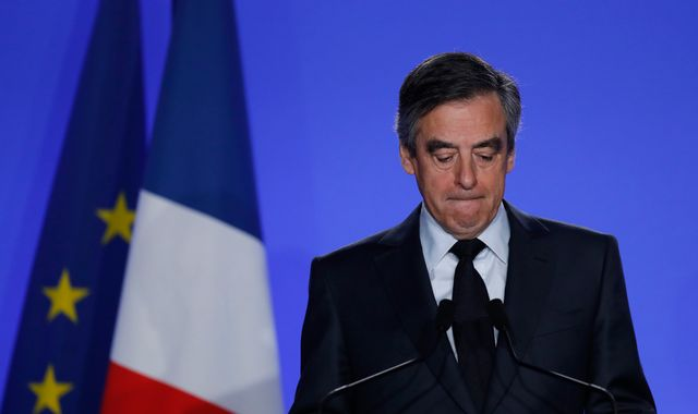 Behind Francois Fillon's surprising display of defiance