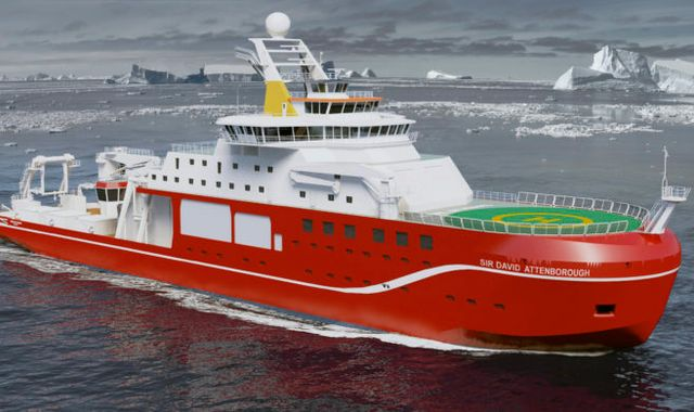 Boaty McBoatface takes to the sea for its maiden voyage