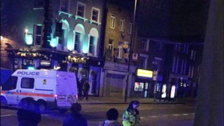 Vehicle hits pedestrians in Islington: Four hurt