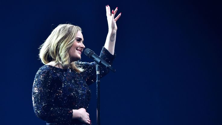 Adele performs on stage at The O2 Arena on March 15, 2016