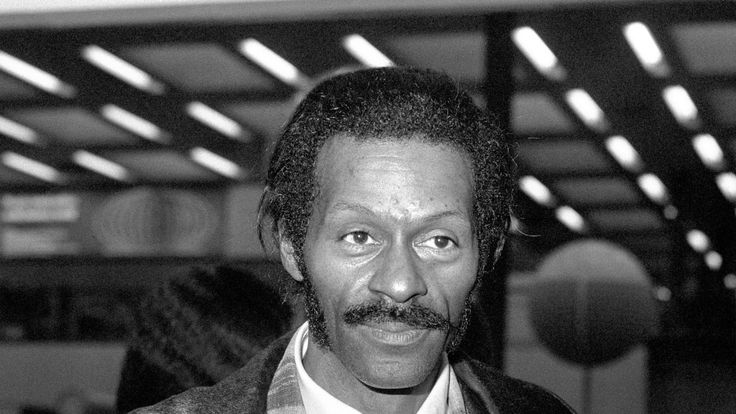 File photo dated 07/03/75 of American rock 'n' roll star Chuck Berry who has died at the age of 90, St Charles County Police Department in Missouri has said. PRESS ASSOCIATION Photo. Issue date: Saturday March 18, 2017. See PA story DEATH Berry. Photo credit should read: PA Wire