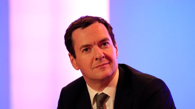 Ex-UK Treasury chief George Osborne to edit London newspaper