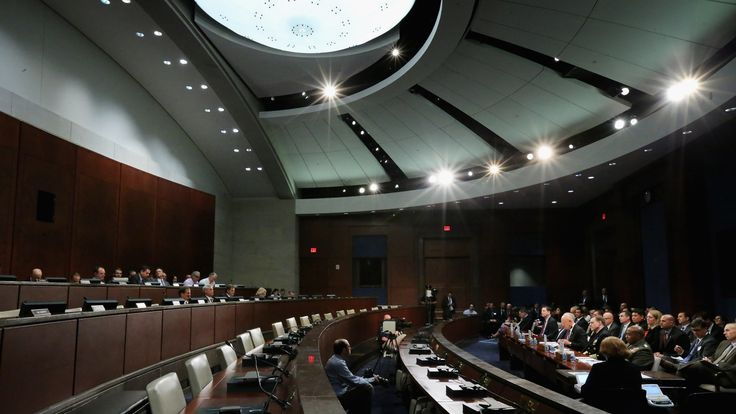 An open hearing of the House intelligence committee. File picture