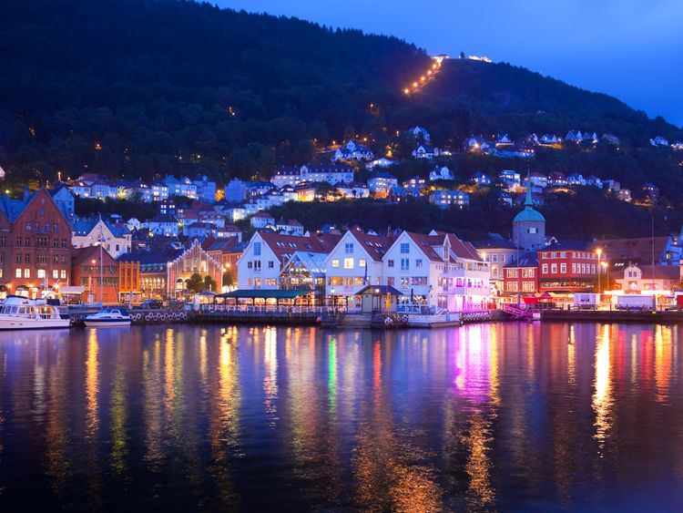 Norway was ranked as the happiest country