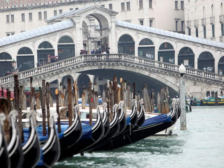 There were concerns a tourist spot like the Rialto Bridge would be targeted