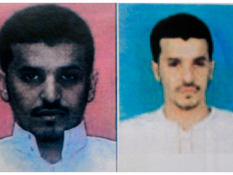 Ibrahim Hassan al-Asiri in a police handbook of the most wanted terror suspects.