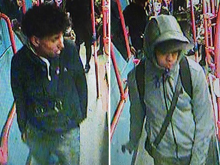 Two males police are hoping to identify, believed to be in their mid-teens