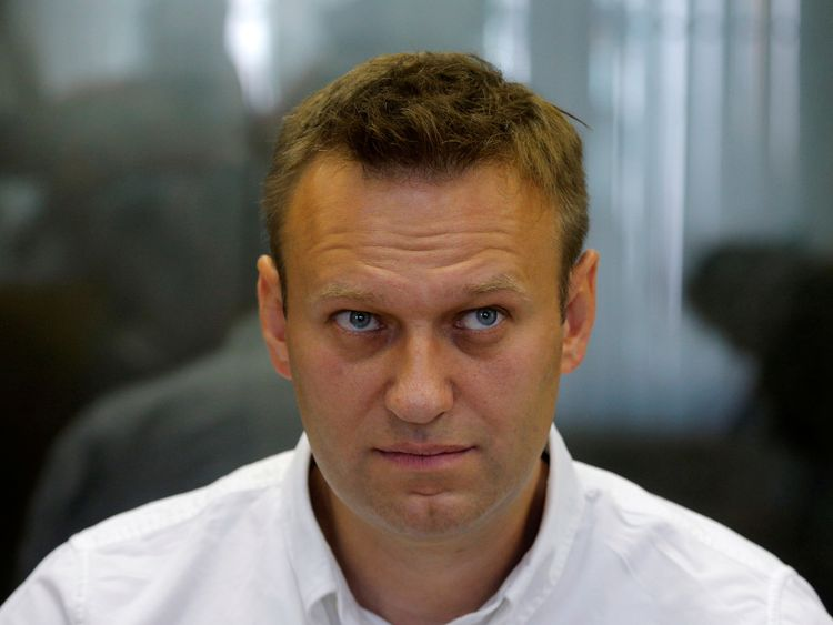 Russian anti-corruption campaigner and opposition figure Alexei Navalny