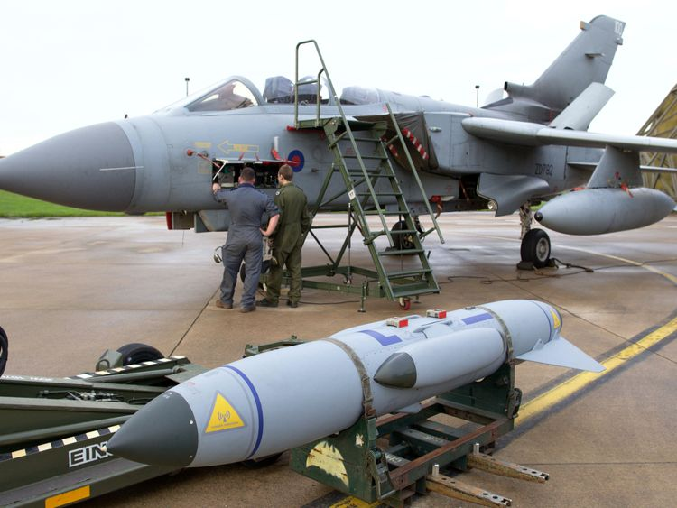 RAF jets to counter Russia threat over Black Sea
