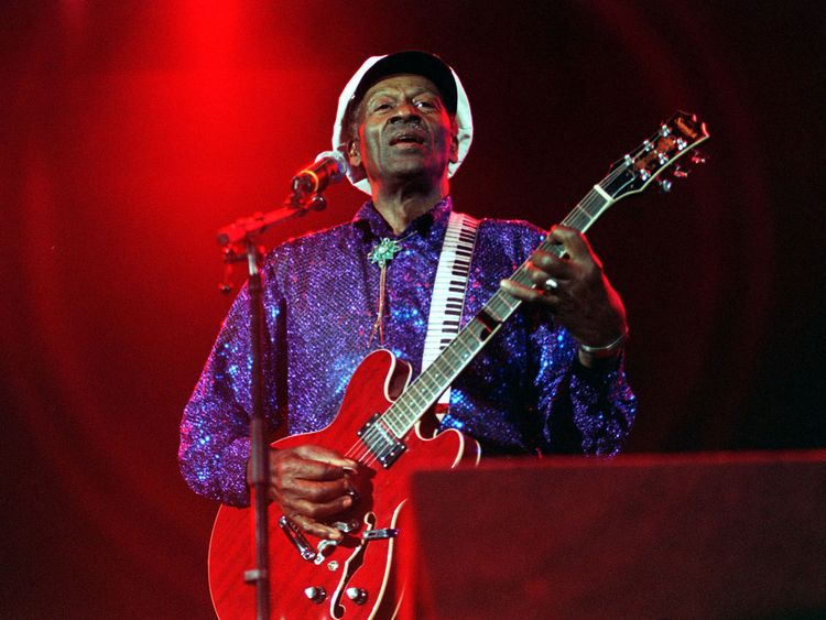 File photo dated 11/07/00 of American rock 'n' roll star Chuck Berry
