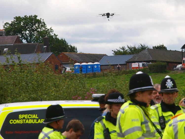 Police Launch Drones to Combat Crime and find missing persons