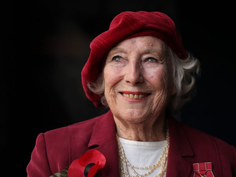 Dame Vera Lynn says she will be thinking of the men who went to war