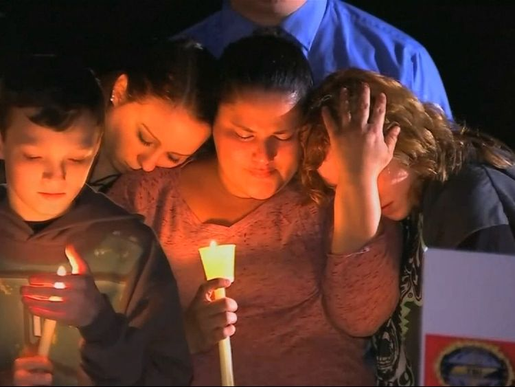 A vigil for missing teen Elizabeth Thomas was held in Columbia, Tennessee