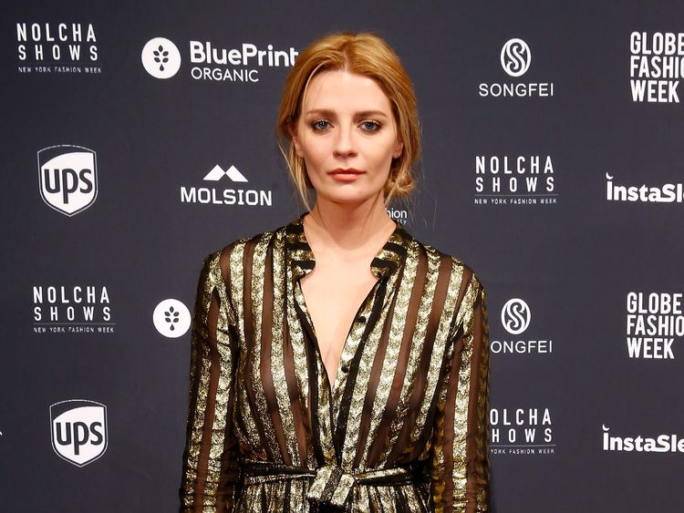 Mischa Barton at New York Fashion Week in September 2016