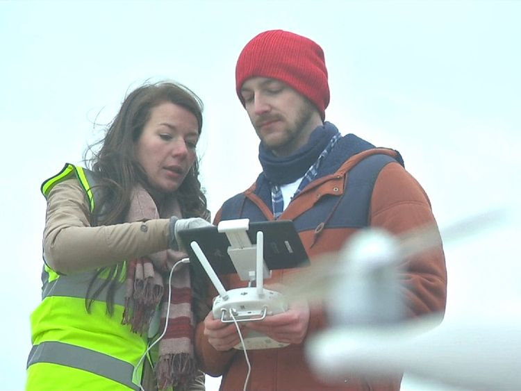 Peter Koehler and Ellie Mackay are building up a picture of how plastic is washing up on beaches