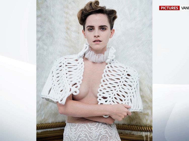 EMMA WATSON ON FRONT PAGE OF VANITY FAIR