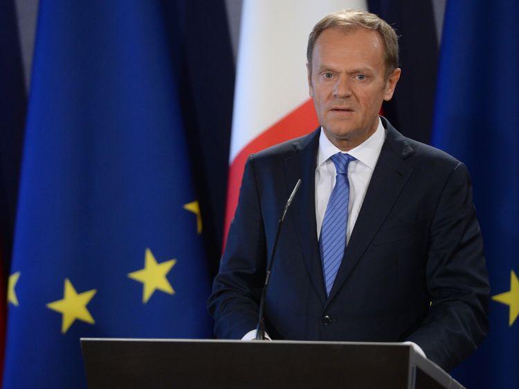 Donald Tusk, President of the European Council