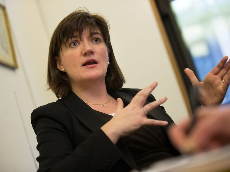 Conservative backbench MP Nicky Morgan