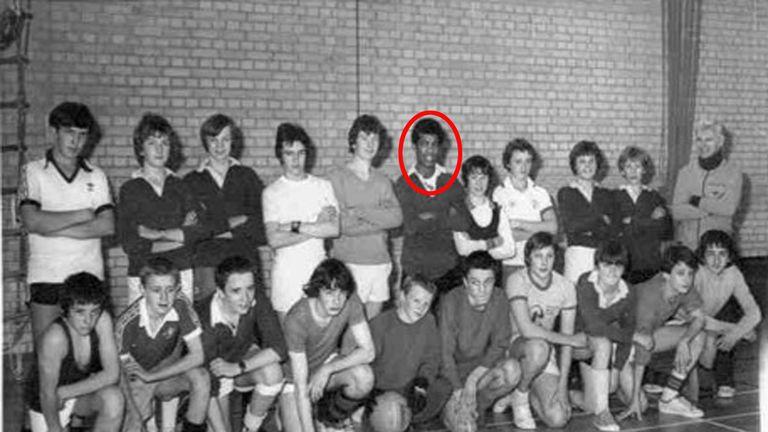 Khalid Masood seen in school