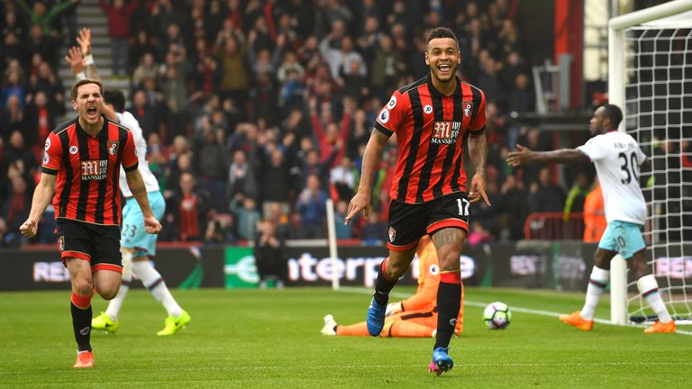 Bournemouth 3-2 West Ham