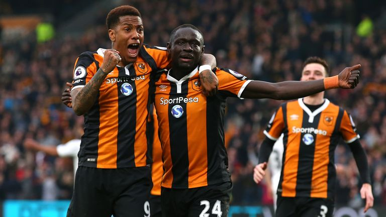 Watch highlights of Hull 2-1 Swansea