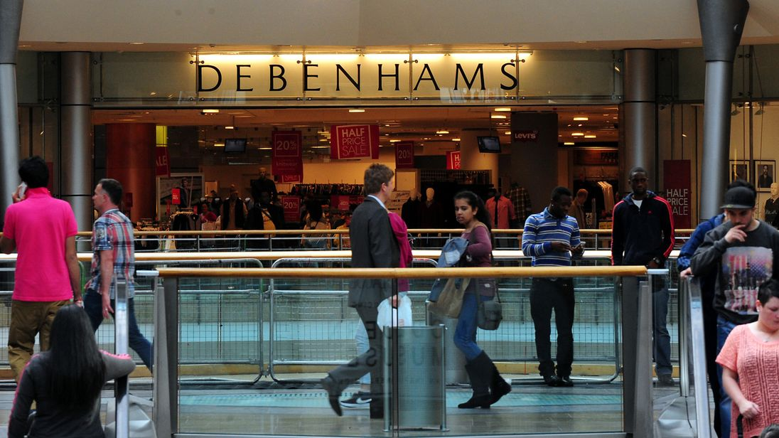 Debenhams to shut stores