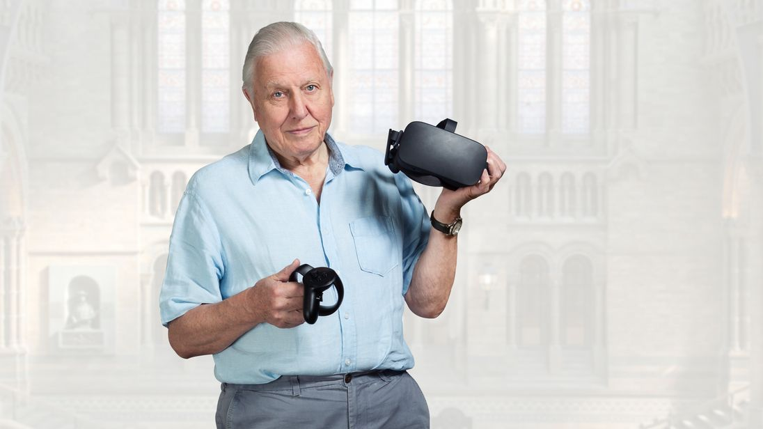 It's been two years in the making but now you can have guided tour with Sir David