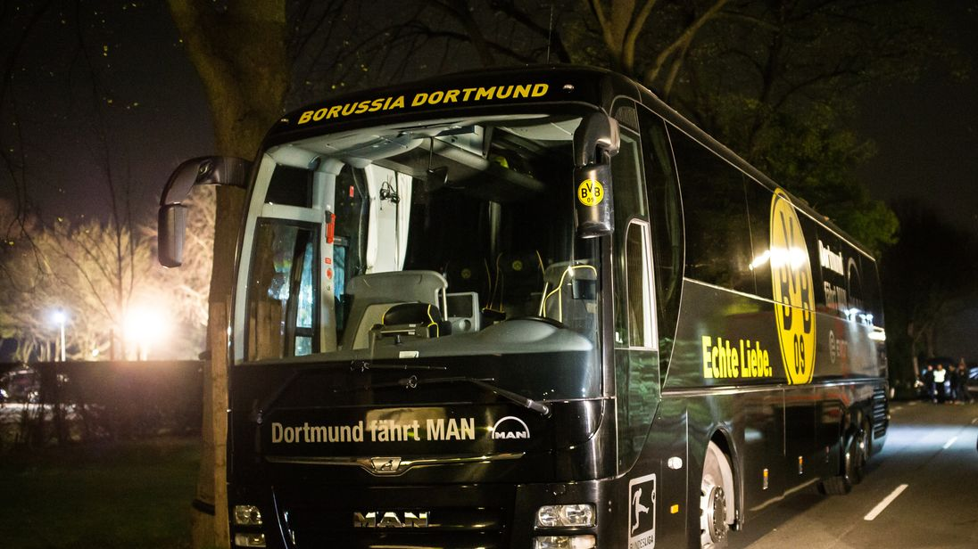 Dortmund goalkeeper slams UEFA after last week's bomb attack
