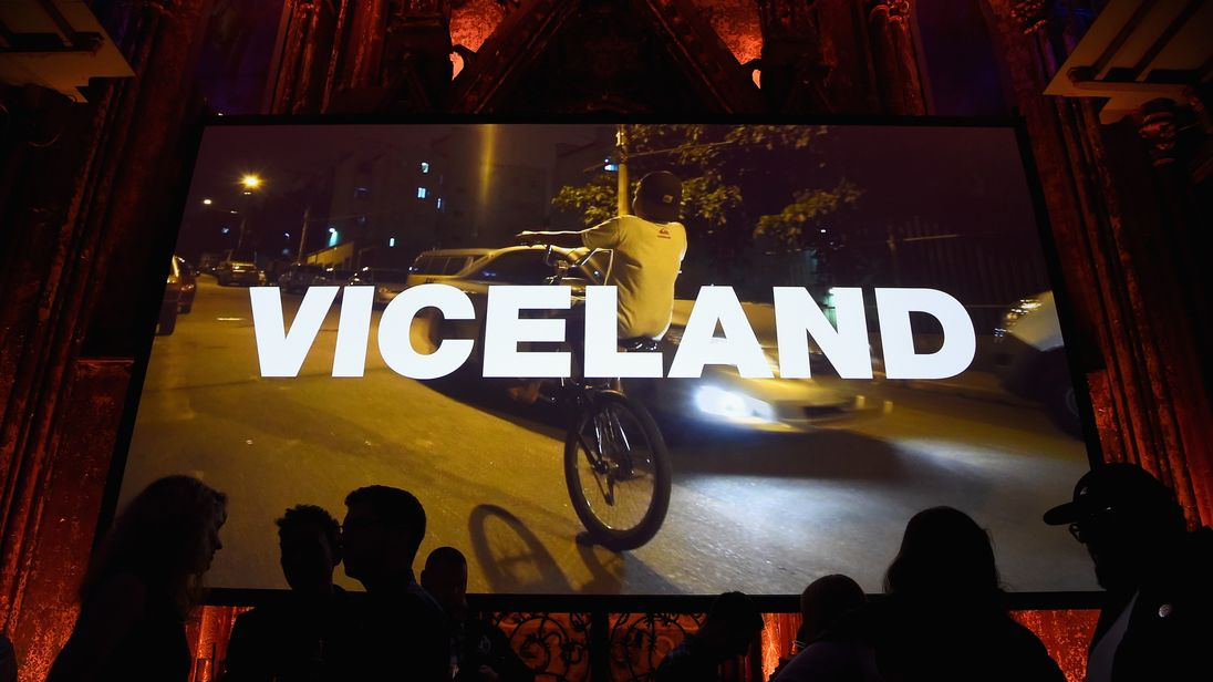 Vice Media runs Viceland TV channel