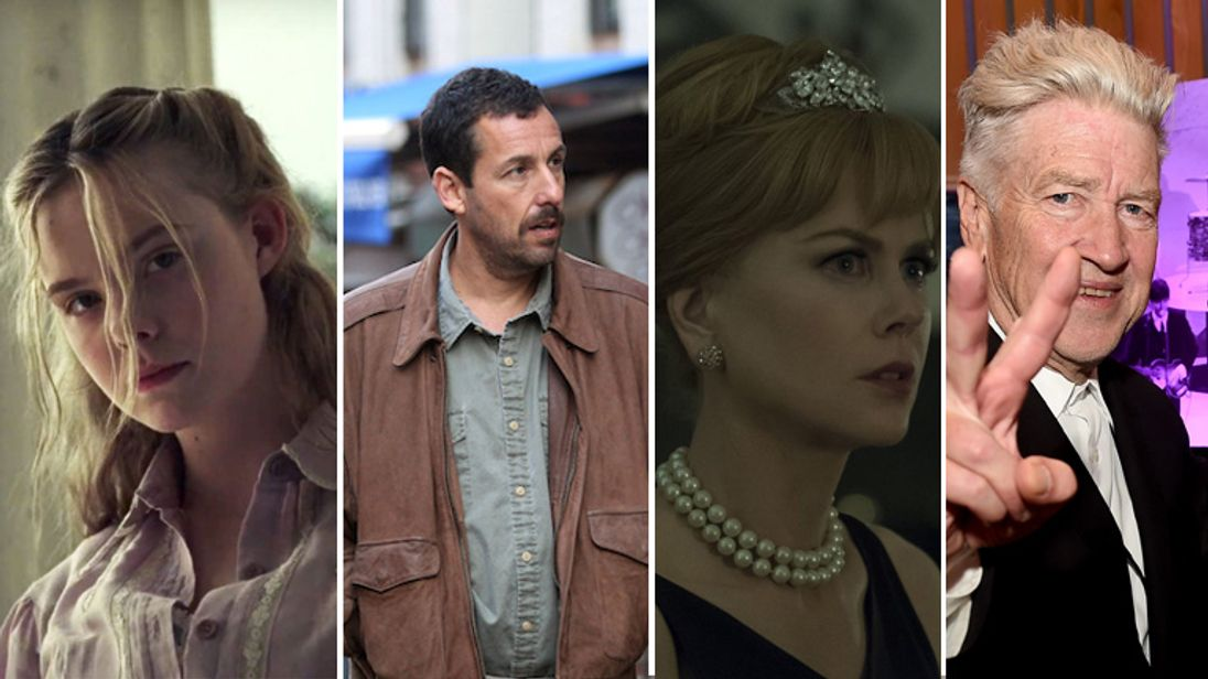 Elle Fanning, Adam Sandler, Nicole Kidman and David Lynch will all be appearing at the Croisette