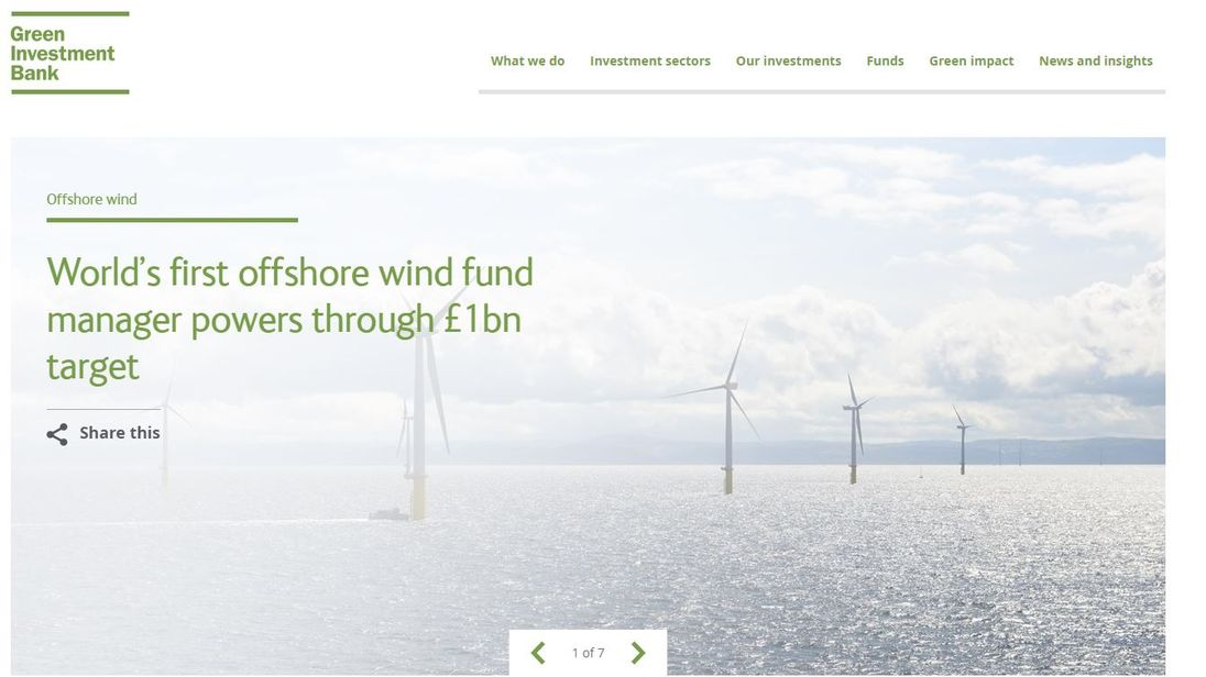 Green Investment Bank to be sold off in £2.3bn deal