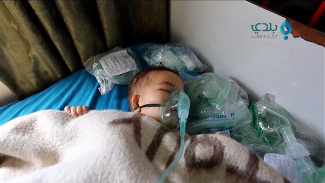 Russia vetoes UN resolution to condemn Syria chemical attack