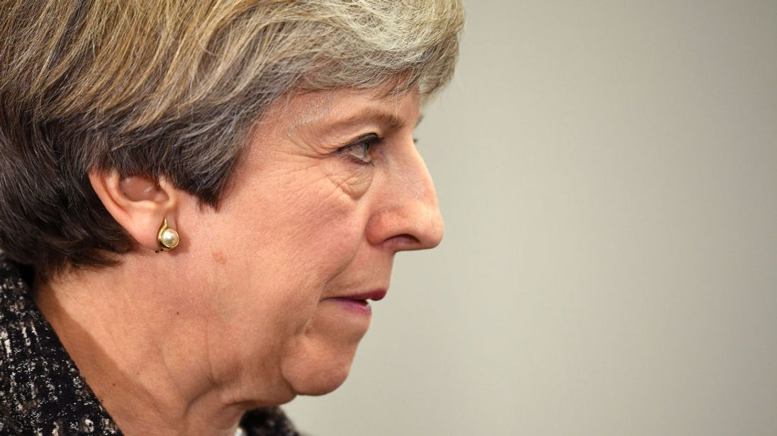 Drop 'tribal politics' - Britain's May takes election fight to Wales