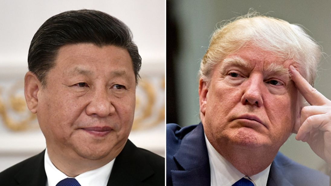 US President Donald Trump and his Chinese counterpart, Xi Xinping