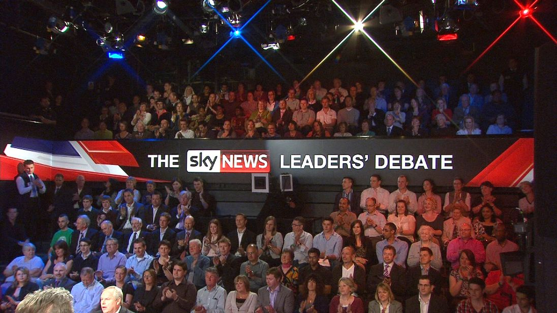Sky News Leaders' Debate