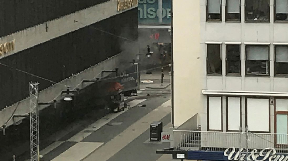 Second suspect arrested over Stockholm truck attack