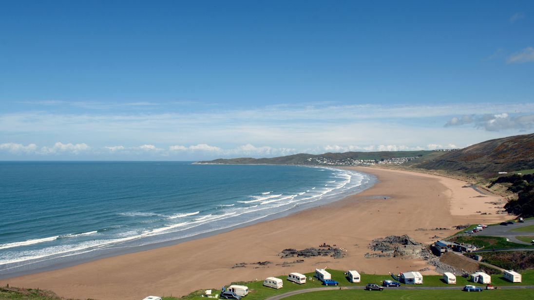 Beaches like this one in Devon could become a lot dirtier when Britain leaves the EU, it is feared