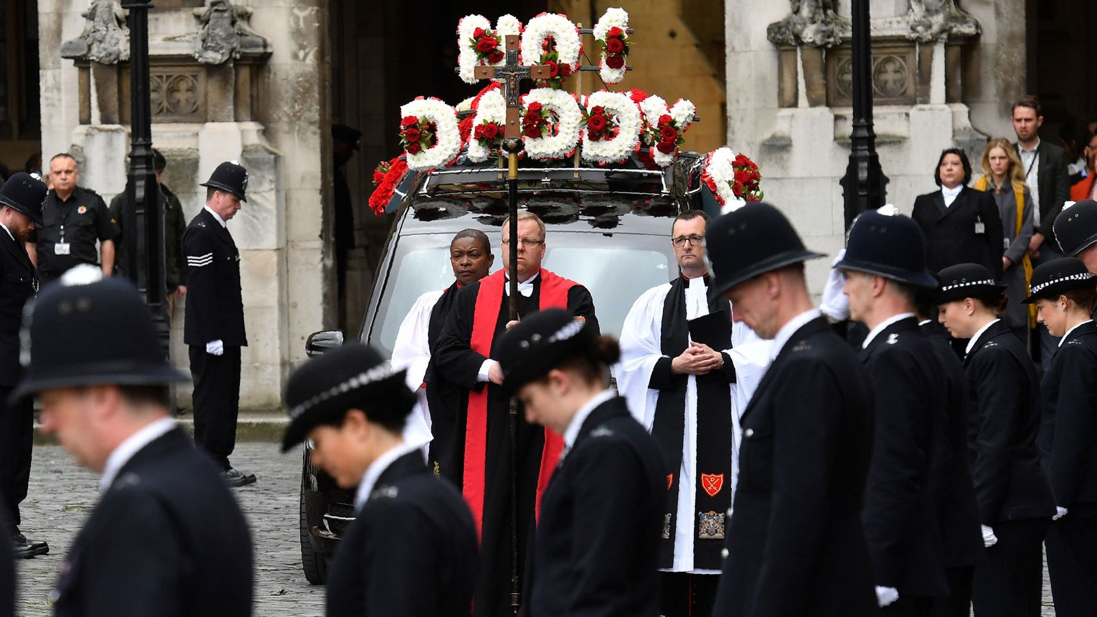 'No 1 Daddy': Final farewell to hero PC Palmer