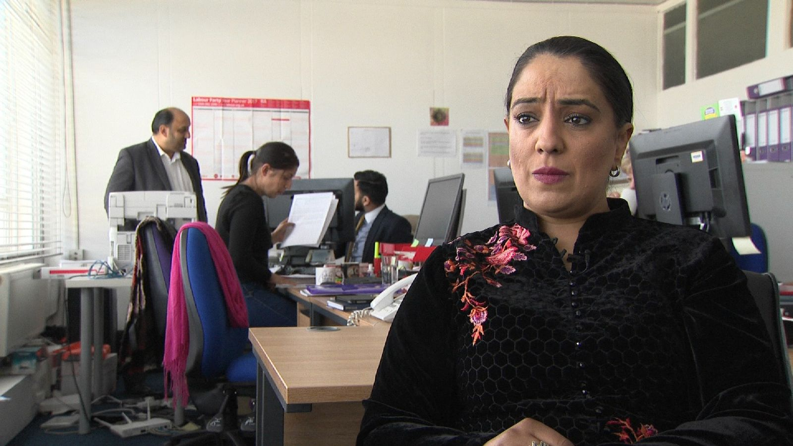 Naz Shah has been receiving death threats
