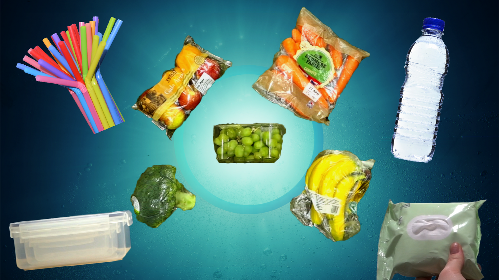 There are five easy ways you can reduce how much single-use plastic you use.