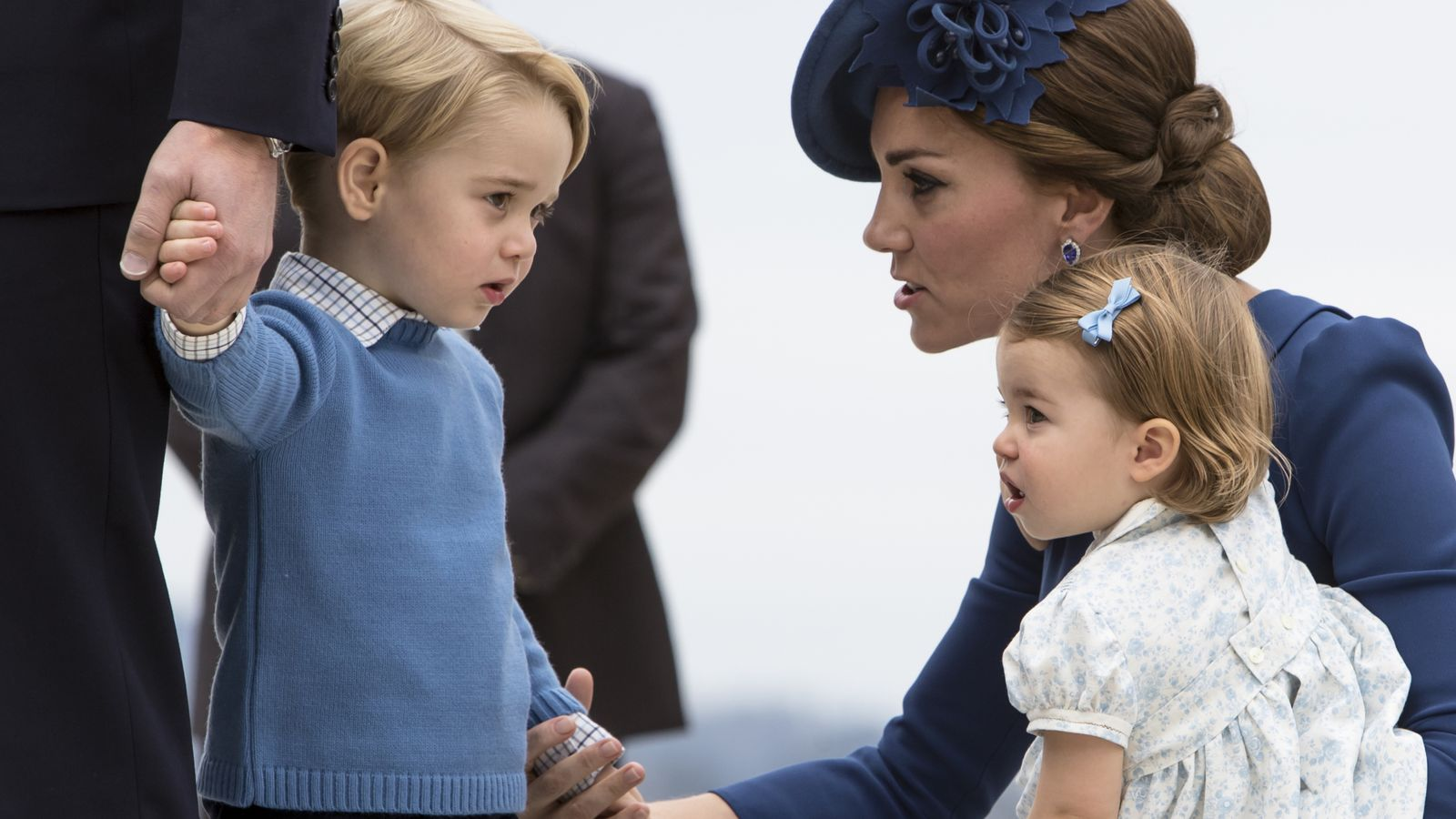 Pippa hands George and Charlotte wedding roles