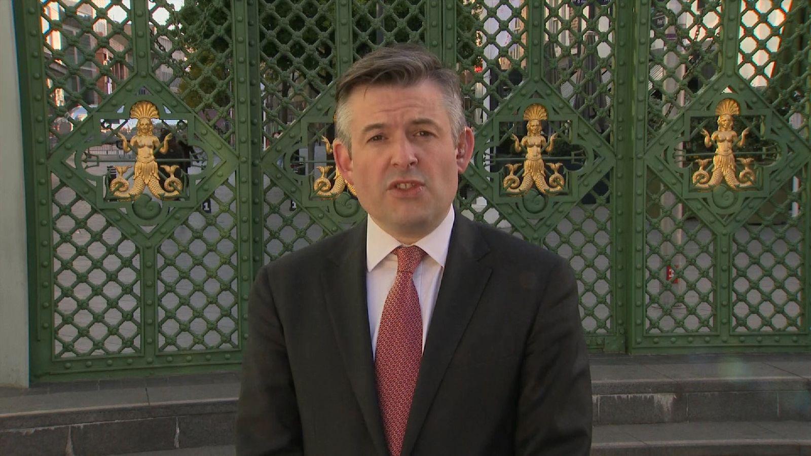 Shadow health secretary Jon Ashworth