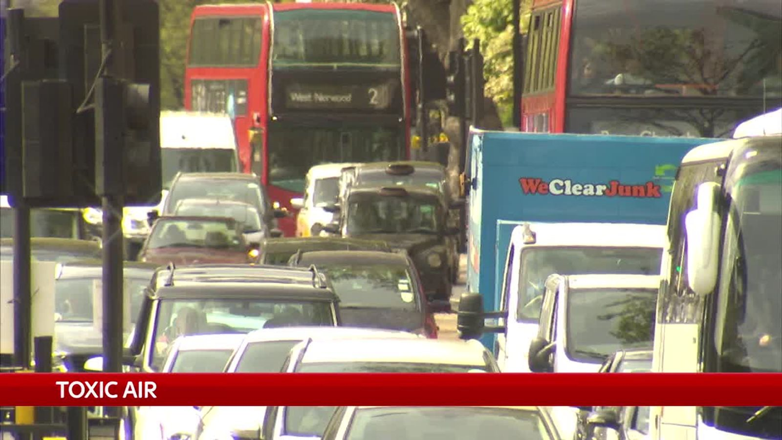 Government may face legal action over delay to air pollution plan